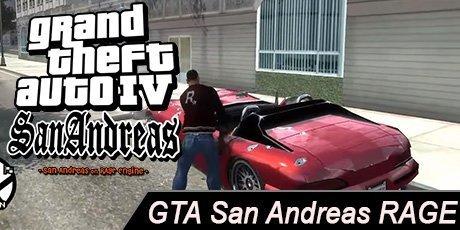 GTA 4 San Andreas RAGE