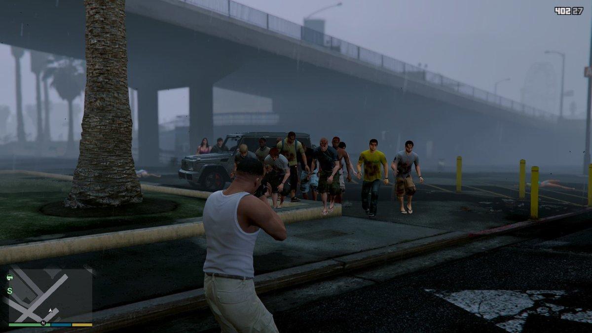 скачать zombiez для gta 5 gta v бесплатно зомби