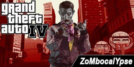 Зомби мод для GTA 4