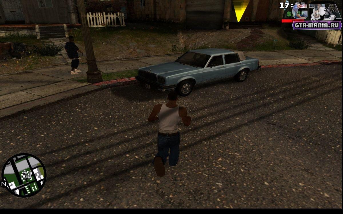 Скачать GTA San Andreas с улучшенной графикой - GTA-Mania ru