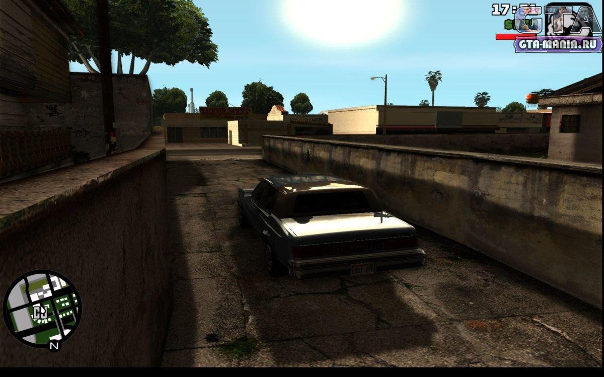 скачать Gta San Andreas с улучшенной графикой Gta Mania Ru