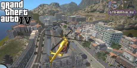 Карта Французская Ривьера для GTA 4