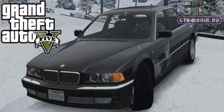 BMW 750i E38 для GTA 5