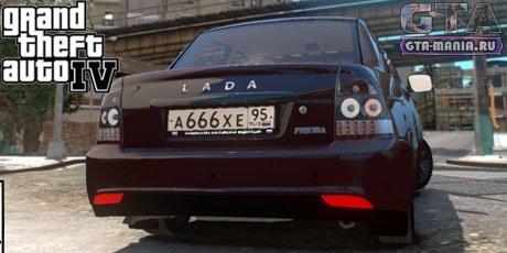 ВАЗ 2170 Приора для GTA 4