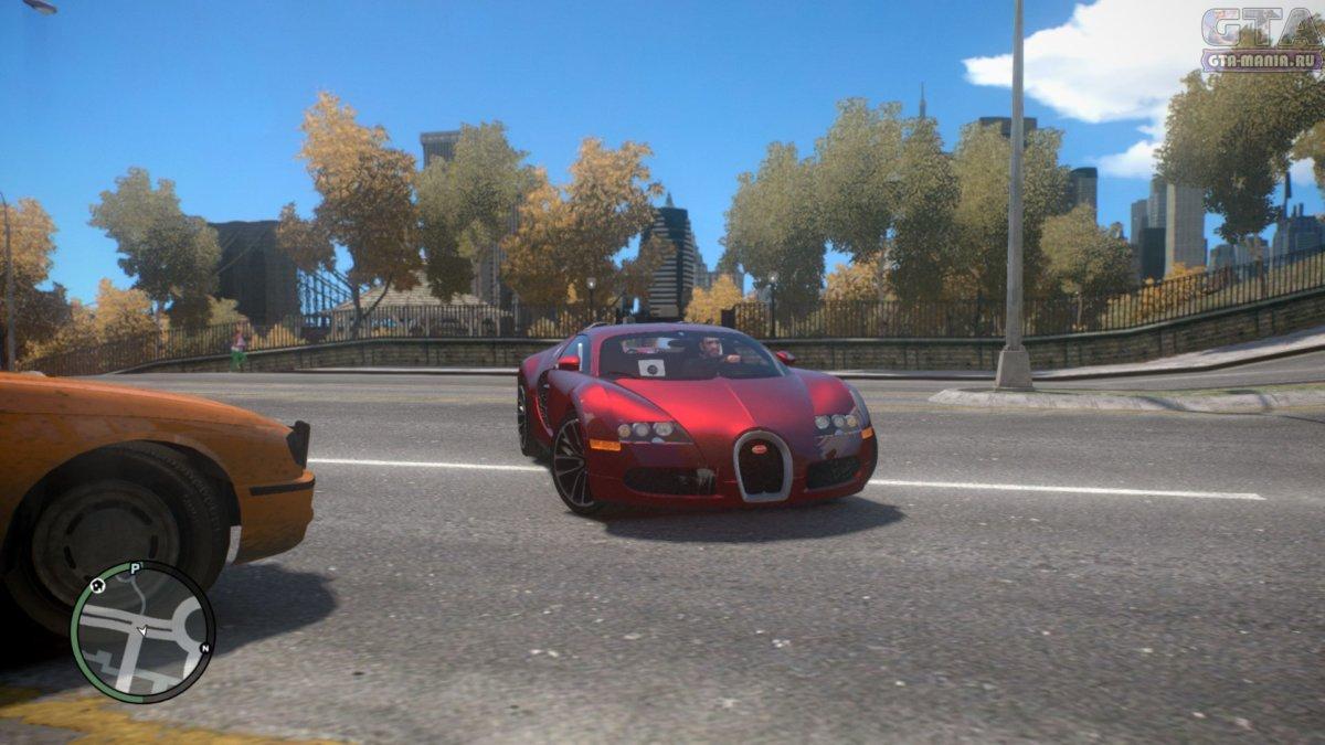 bugatti veyron для gta 4 скачать