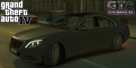 Mercedes-Benz W222 для GTA 4