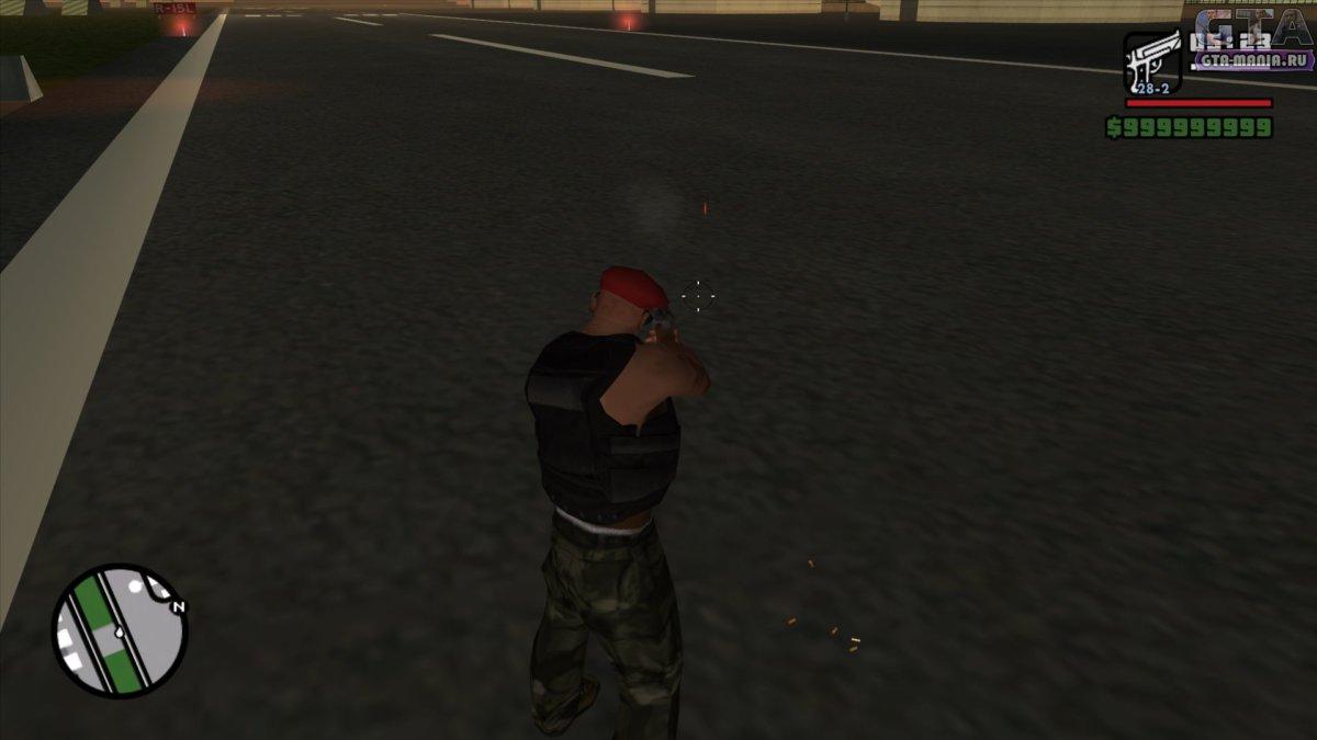 реалистичные 3D гильзы для GTA San Andreas гильзы от пуль гта сан андреас