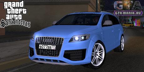 Audi Q7 для GTA San Andreas ауди ку7 для гта сан андреас джип внедорожник гта мания