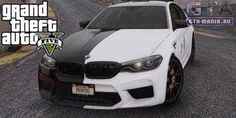 BMW M5 F90 2019 для GTA 5