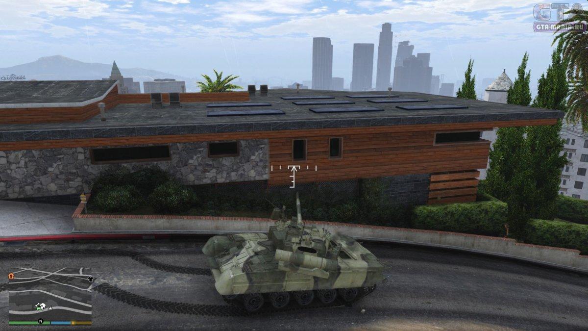 танк для гта 5 скачать