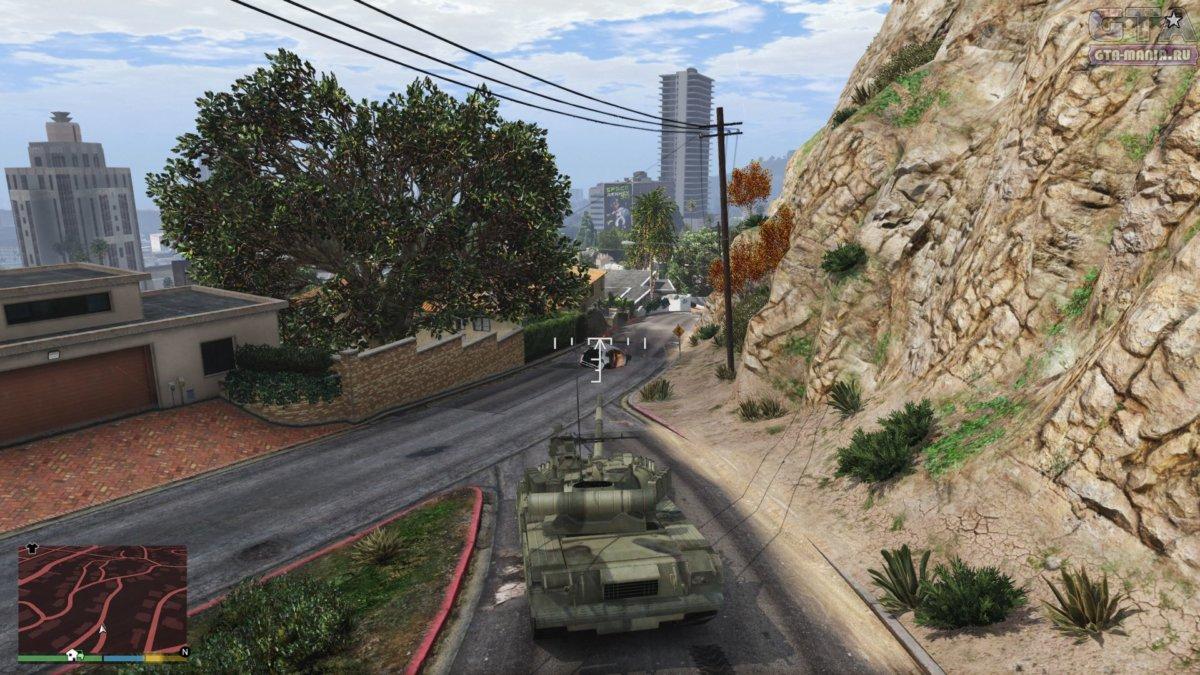 tank для gta 5 скачать