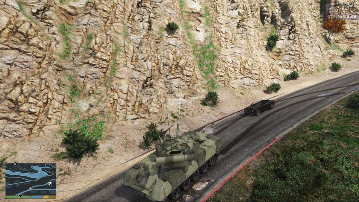 танк т80 для гта 5 скачать