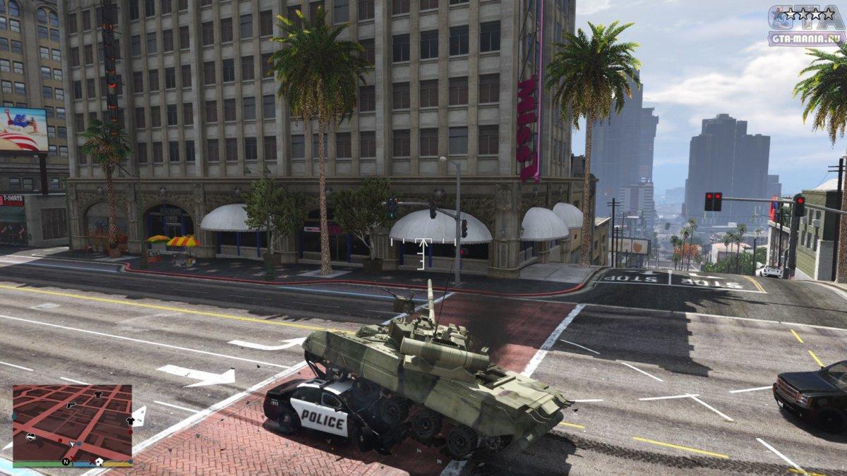 новый танк для гта 5 скачать