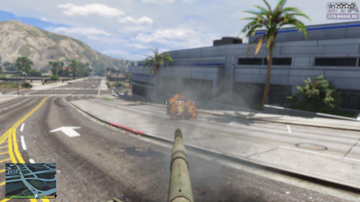 танк т80у для гта скачать