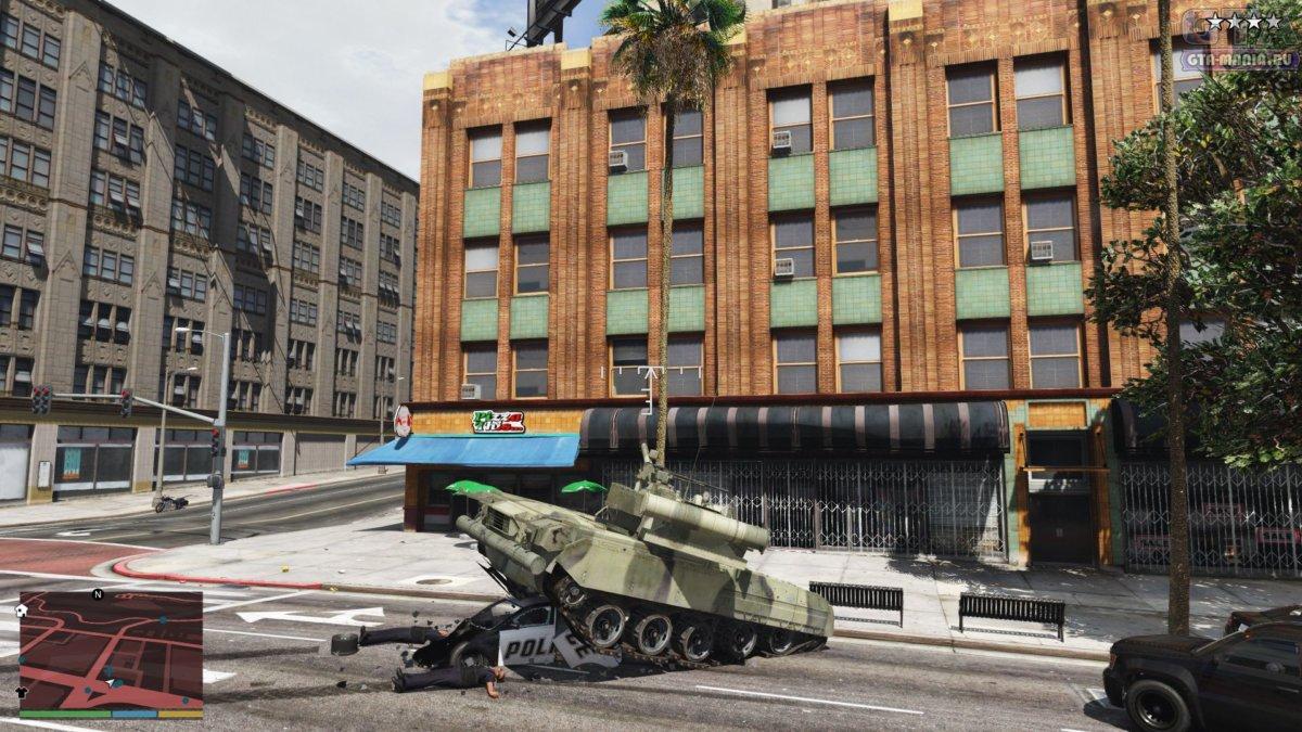 танк в гта 5 скачать