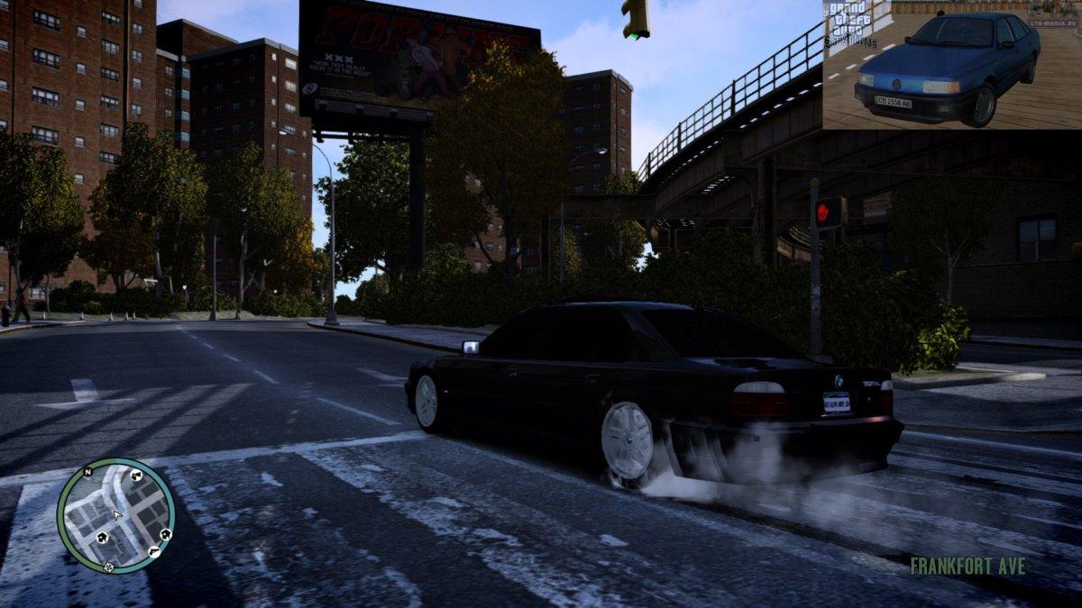 BMW 750iL E38 для GTA 4 бмв е38 740 л скачать