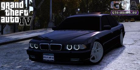 BMW 750 E38 для GTA 4 бмв е38 740и л бєха семерка гта мания