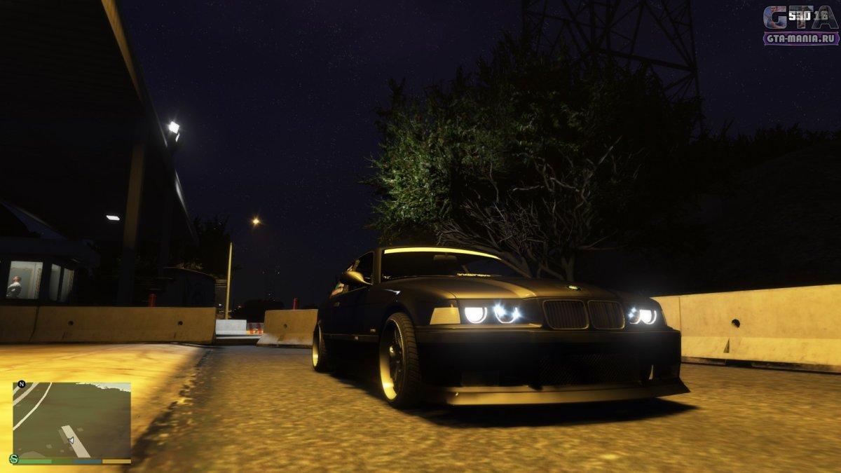 BMW M3 E36 для GTA 5 бмв м3 е36 тюнинг скачать гта 5