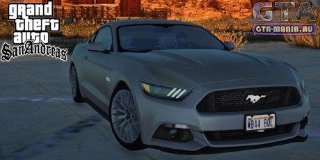 Ford Mustang GT 2015 для GTA San Andreas форд мустанг гт 2015 для гта сан андреас скачать гта мания