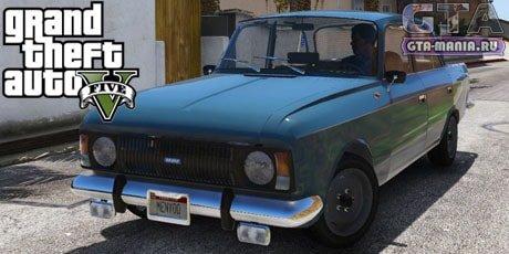 ИЖ москвич 412 для gta 5 автоустановка