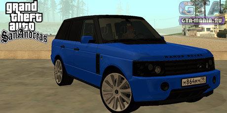 Range Rover Pontorezka для GTA San Andreas ренж ровер понторезка гта academeg гта мания