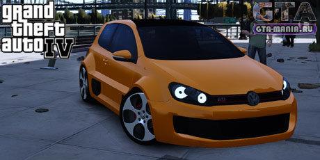 Volkswagen Golf GTI W12 для GTA 4 фольксваген гольф в12 скачать vw
