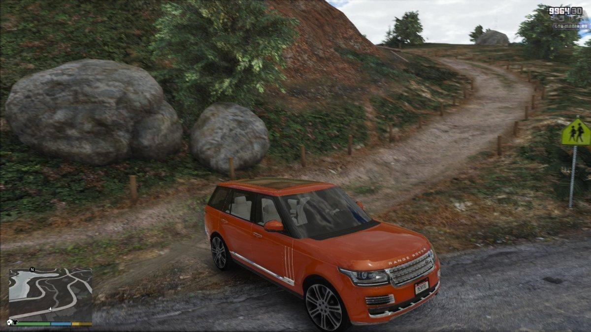 range rover sva для gta 5 скачать