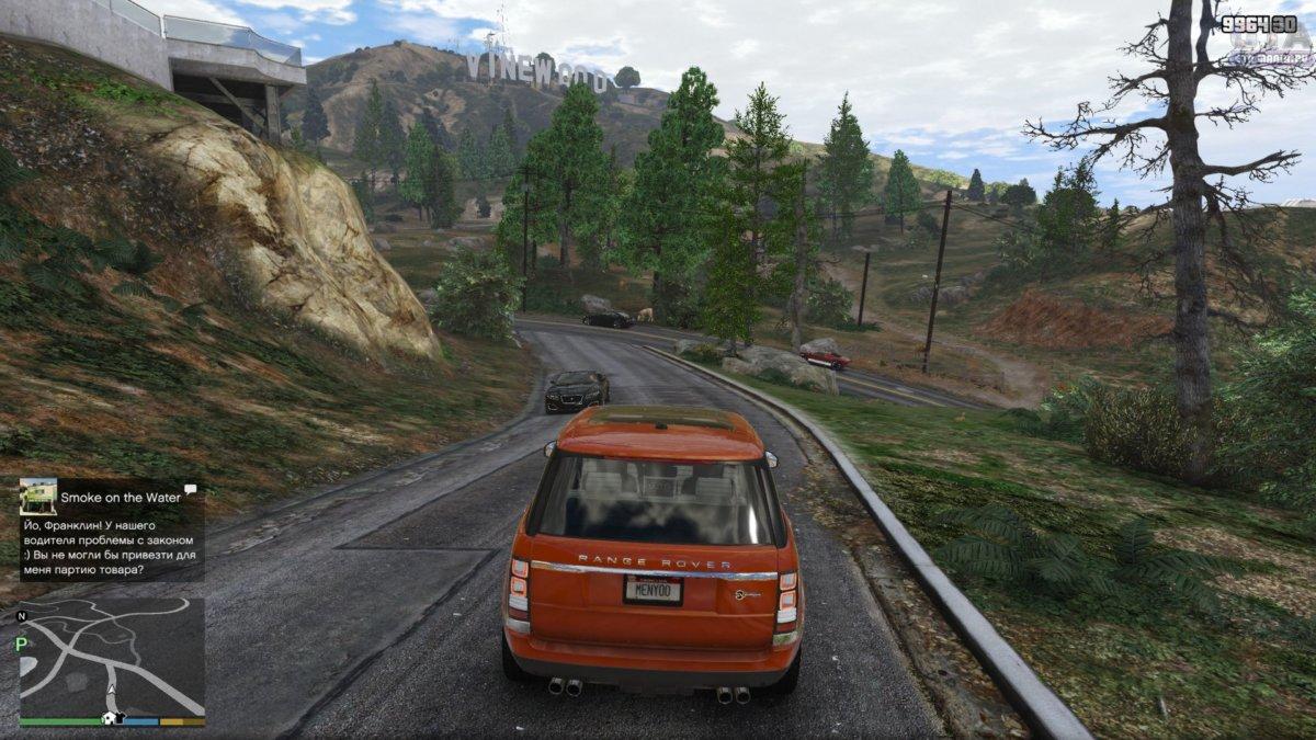 land rover для gta 5 скачтаь