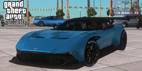 Aston Martin Vulcan для GTA San Andreas