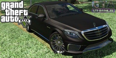 Mercedes-Benz S65 W222 для GTA 5