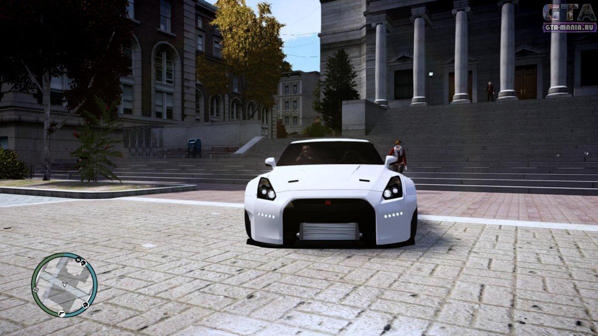 Nissan GT-R R35 Liberty Walk для GTA 4 ниссан гт-р р35 либерти волк гта 4 автоустановка