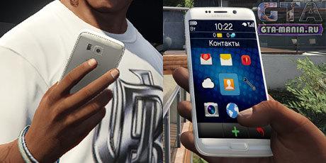 Samsung Galaxy S6 Edge для GTA 5 Franklin