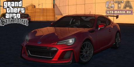 Subaru BRZ STi Concept 2016 для GTA San Andreas субару брз сти концепт гта сан андреас