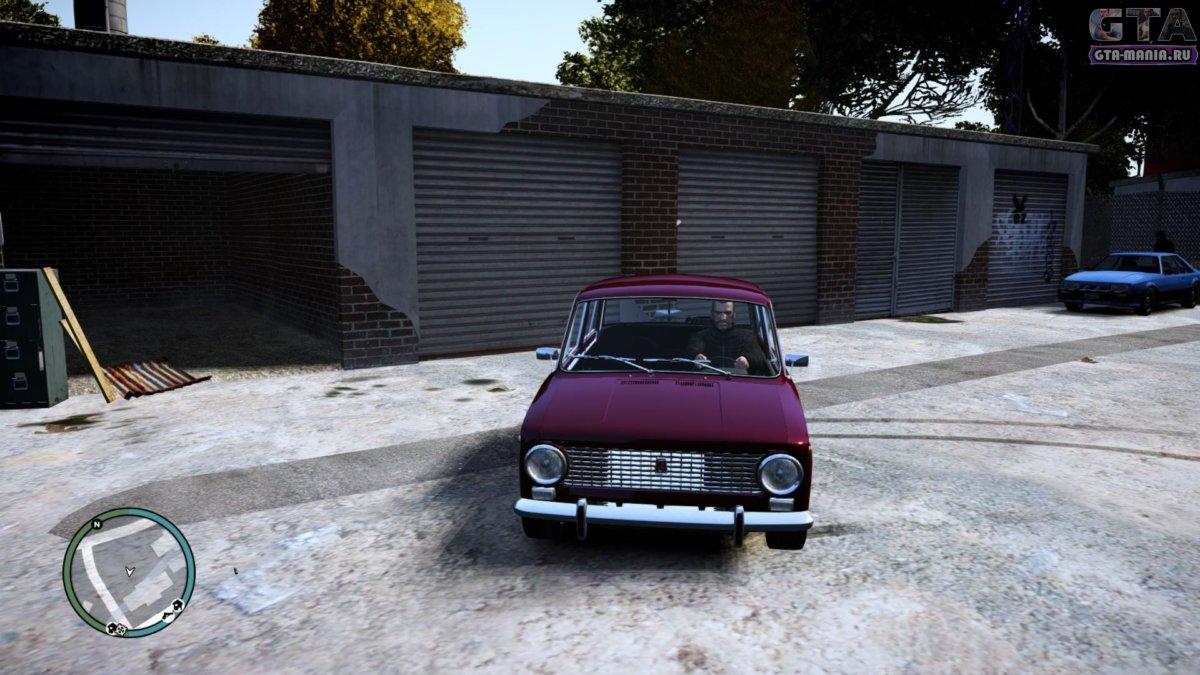 ВАЗ 2101 для GTA 4 жигули копейка гта 4 советская машина