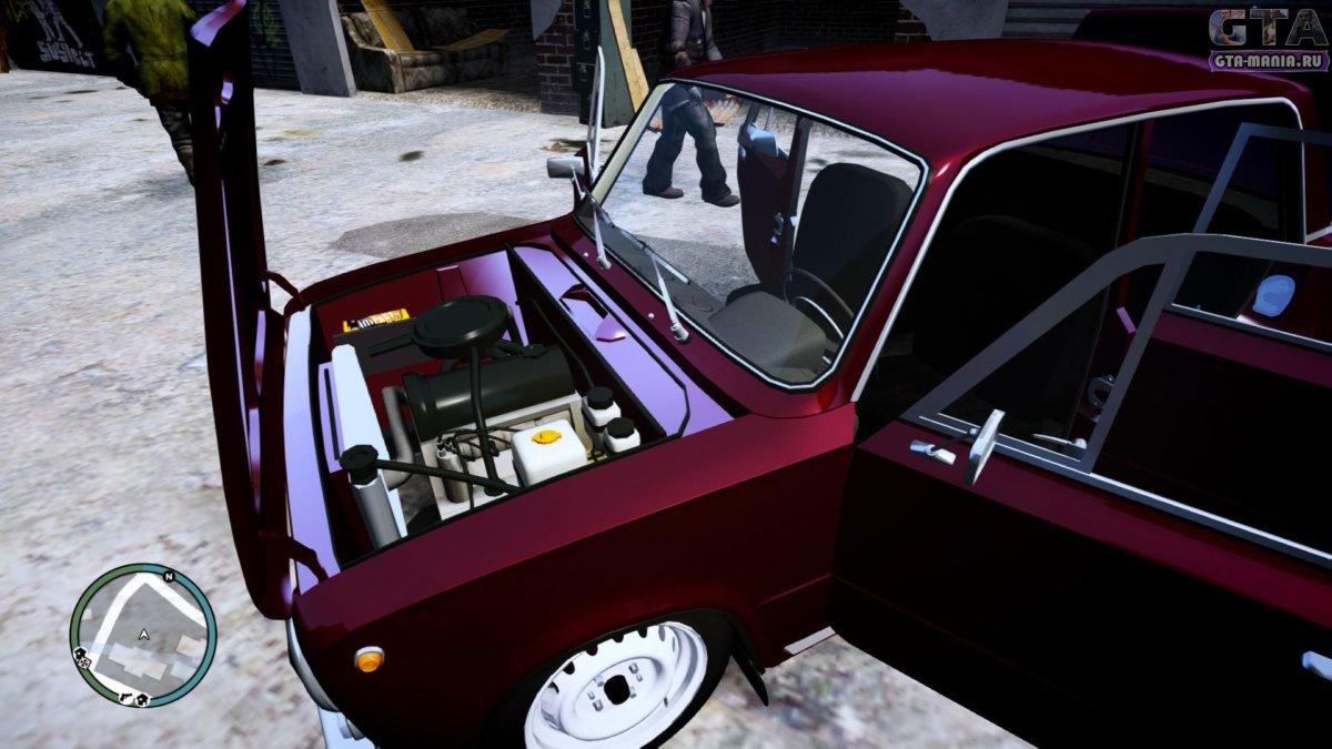 ВАЗ 2101 для GTA 4 жигули копейка гта 4 русская