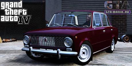 ВАЗ 2101 для GTA 4 жигули копейка гта 4 советская машина гта мания