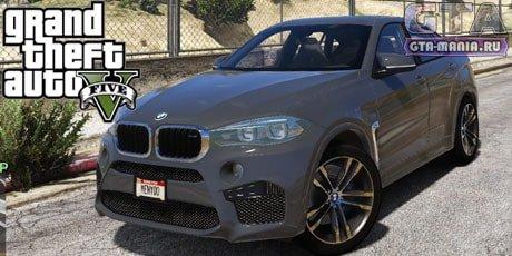BMW X6M F16 для GTA 5