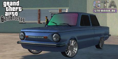 ЗАЗ 968M для GTA San Andreas запорожец 968 тюнинг гта сан андреас