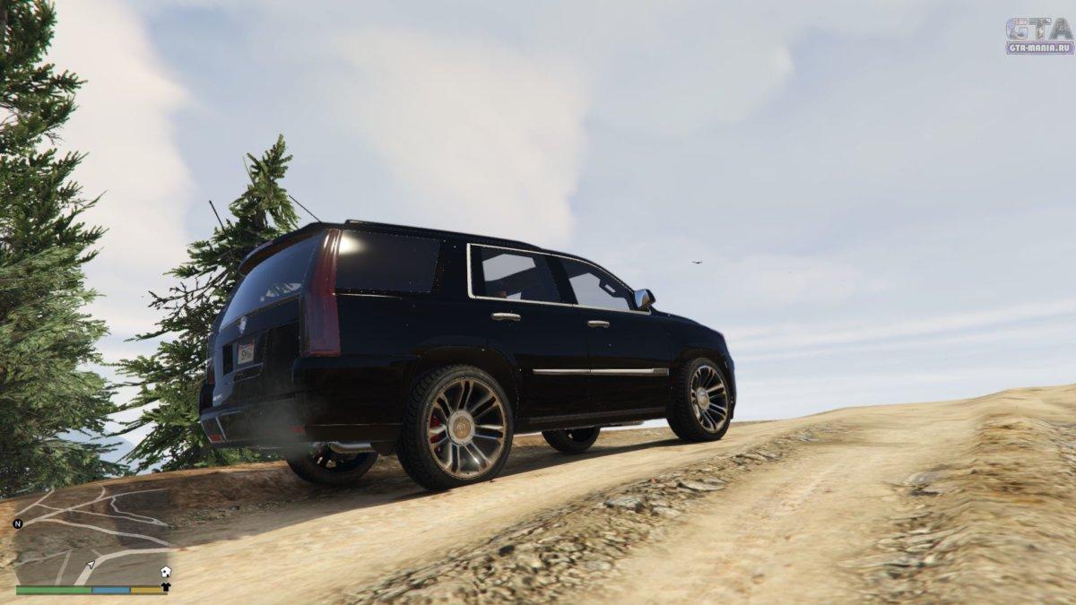 Cadillac Escalade фбр скачать гта 5