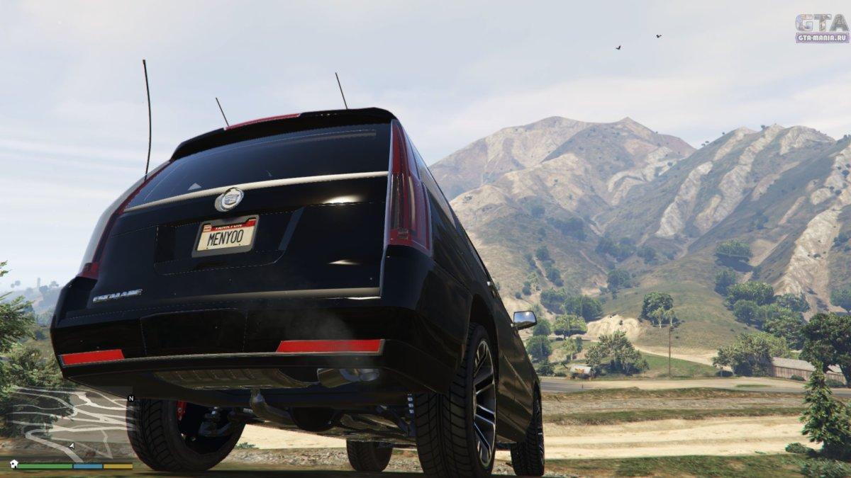 Cadillac Escalade для гта 5 загрузить