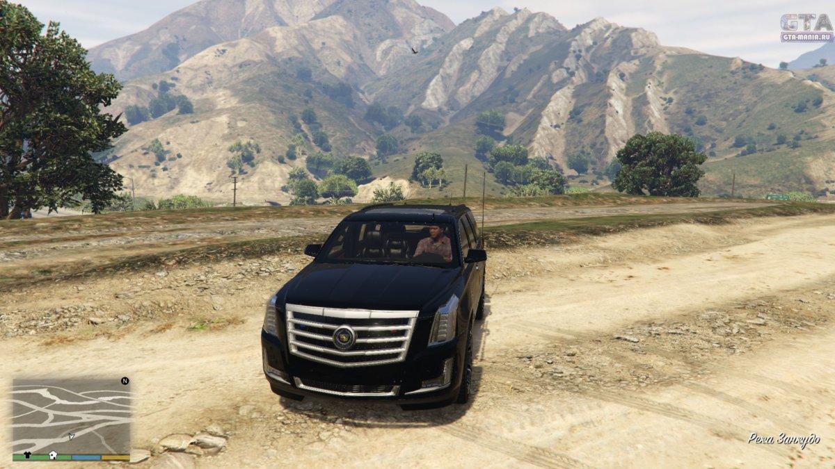 Cadillac Escalade для gta 5 скачать