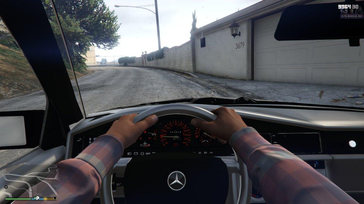 mercedes-benz с автоустановкой для гта