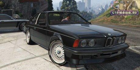 BMW M635 E24 1986 для GTA 5