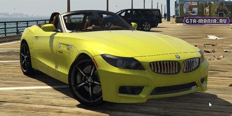 BMW Z4 sDrive28i M Sport для GTA 5 бмв з4 м спорт е89 гта 5