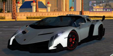 Lamborghini Veneno Roadster 2014 для GTA San Andreas ламборджини венено гта сан андреас