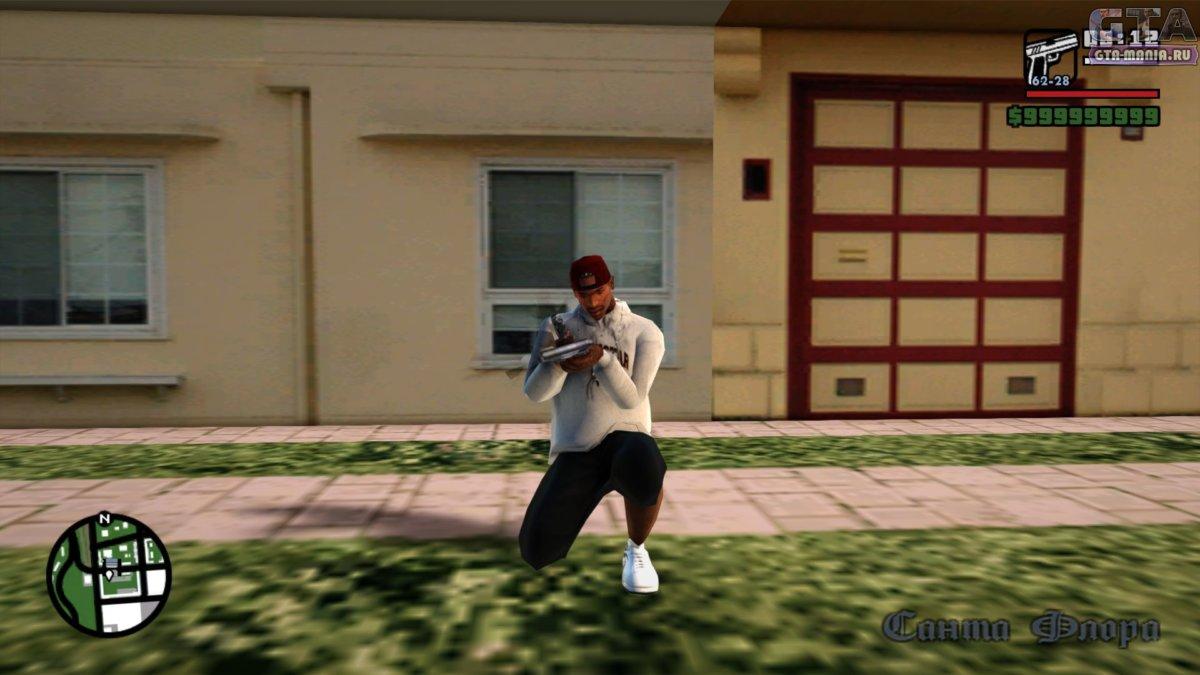 Перезарядка оружия для GTA San Andreas перезарядка по кнопке r гта сан андреас