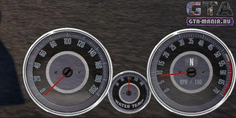 Спидометр Chevrolet Camaro для GTA San Andreas