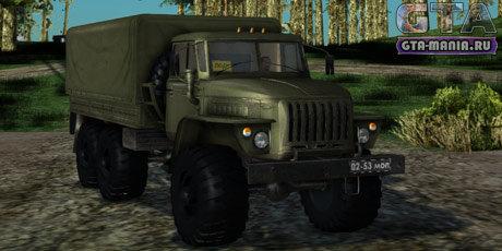 Урал 4320 для GTA San Andreas урал гта сан андреас