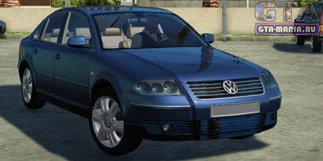 Volkswagen Passat B5 для GTA San Andreas вольксваген пассат б5 гта сан андреас