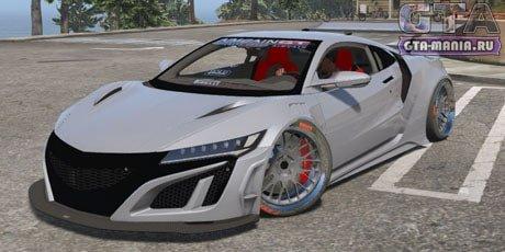 Acura NSX 2017 для GTA 5